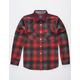 ROARK Nordsman Red Mens Flannel Shirt