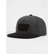 VANS Full Patch Gray & Black Mens Snapback Hat