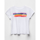 VOLCOM Chest Stripe Girls Tee