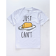 Gudetama Just Can't Mens T-Shirt