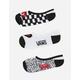 VANS 3 Pack DIY Checkerboard Girls Canoodle Socks
