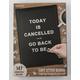 Black Cafe Letter Board