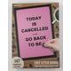 Pink Cafe Letter Board