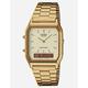 CASIO Vintage AQ230 Gold Watch