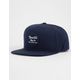 BRIXTON Wheeler Navy Mens Snapback Hat