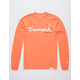 DIAMOND SUPPLY CO. OG Script Orange Mens T-Shirt