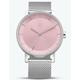 ADIDAS DISTRICT_M1 Silver & Pink Watch