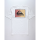 QUIKSILVER OG Classic Patch White Mens T-Shirt