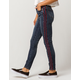 SKY AND SPARROW Side Stripe Womens Skinny Jeans
