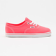VANS Neon Authentic Lo Pro Girls Shoes