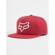 FOX Instill Cardinal Mens Snapback Hat