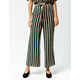 AMUSE SOCIETY Earn Your Stripes Womens Crop Pants