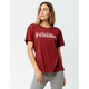 AMUSE SOCIETY Fearlessly Femme Womens Tee