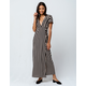 AMUSE SOCIETY Fit To Be Tied Wrap Dress