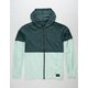 HURLEY Pistol River Lightweight Spruce Mens Windbreaker