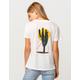 LIRA Sunset Cactus Womens Tee
