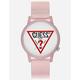 GUESS Originals V1018M2 Clear Pink Watch