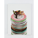 Cat Sushi Plate White Notebook