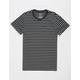 BLUE CROWN Mini Stripe Mens T-Shirt