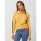 FULL TILT Sleeve Stripe Womens Half Zip Top