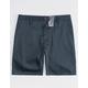 BLUE CROWN Slim Navy Mens Chino Shorts