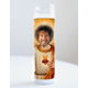 Bob Ross Prayer Candle