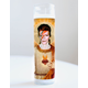 David Bowie Ziggy Tribute Candle