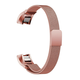 ELEMENT WORKS Milanese Loop Rose Gold Fitbit Alta & Alta HR Band