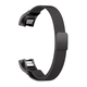 ELEMENT WORK Milanese Loop Black Fitbit Alta & Alta HR Band