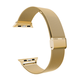 ELEMENT WORKS 42mm Milanese Loop Gold Apple Watch Wristband
