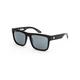 SPY Discord Matte Black Leopard Fade Sunglasses