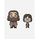 FUNKO VYNL. Hagrid & Harry Figures
