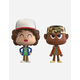 FUNKO VYNL. Stranger Things Lucas & Dustin Figures