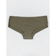 FULL TILT Laser Cut Olive Panties