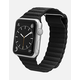 CASETIFY 42mm Magnetic Black Apple Watch Band