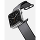 CASETIFY 42mm Nylon Solid Black Apple Watch Band
