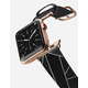 CASETIFY 38mm Leather Gold Apple Watch Band