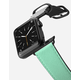 CASETIFY 38mm Mint And Stripes Black Apple Watch Band