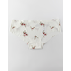 FULL TILT Printed Floral Laser Cut Panties