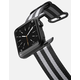 CASETIFY 42mm Nylon Stripe Black Apple Watch Band