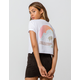 BILLABONG Trouble Womens Crop Tee