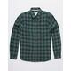 VSTR Check Yoself Green Mens Flannel Shirt