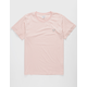 CATCH SURF Ensign Striped Pink Mens T-Shirt