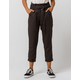 INDIGO REIN Stripe Paperbag Waist Black & White Womens Trouser Pants