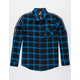 RSQ Bowery Mens Flannel Shirt