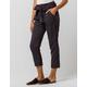 INDIGO REIN Stripe Paperbag Waist Navy & White Womens Trouser Pants