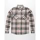 SHOUTHOUSE Havasu Navy Mens Flannel Shirt