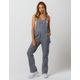 DICKIES Carpenter Hickory Stripe Womens Overalls