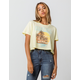 RECYCLED KARMA Havana Womens Crop Tee