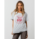 RECYCLED KARMA Tootsie Roll Womens Ripped Tee